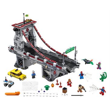 LEGO Spider-Man: Web Warriors Ultimate Bridge Battle (76057)