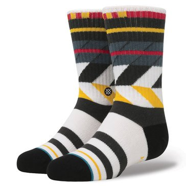 Stance Little Boys' Hazard Crew Socks, Size 2.5-5