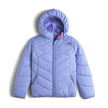 The North Face Big Girls' Perrito Jacket, Grapemist Blue