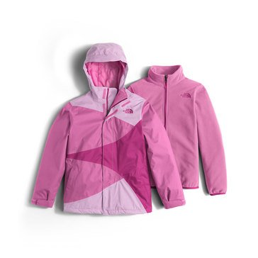 The North Face Big Girls' Mountain View Triclimate Jacket, Lupine