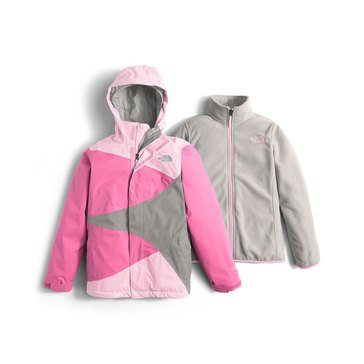 The North Face Big Girls' Mountain View Triclimate Jacket, Coy Pink