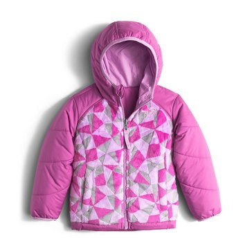 The North Face Toddler Girls' Perseus Jacket, Wisteria Purple Triangle Camo