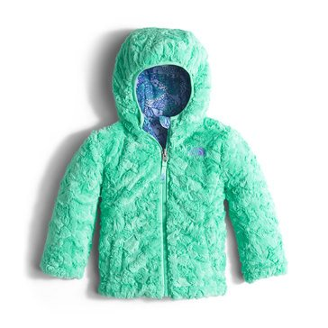 The North Face Toddler Girls' Mossbud Swirl Jacket, Grapemist Blue Butterfly Camo