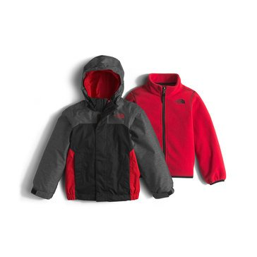 The North Face Toddler Boys' Vortex Triclimate System Jacket, TNF Black