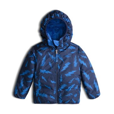 The North Face Toddler Boys' Heavy Weight Reversible Perrito Jacket, Jake Blue