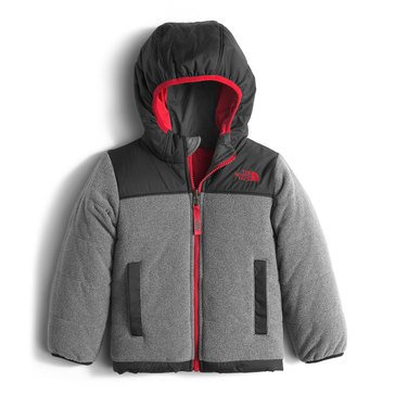 The North Face Toddler Boys' Reversible True or False Jacket, TNF Med Grey Heather