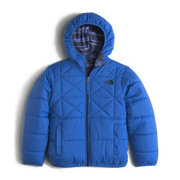 The North Face Big Boys' Heavy Weight Reversible Perrito Jacket, Jake Blue