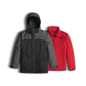 The North Face Big Boys' Heavy Weight Vortex Triclimate Jacket, TNF Black