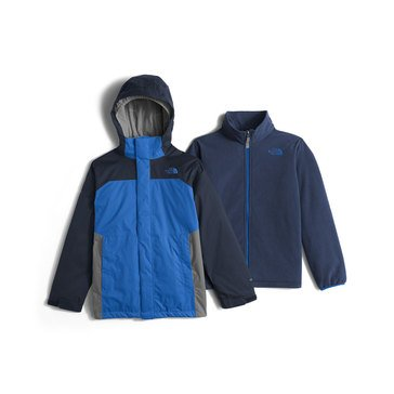 The North Face Big Boys' Heavy Weight Vortex Triclimate Jacket, Jake Blue