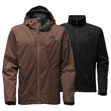 The North Face Men's Arrowood Triclimate Jacket Brown