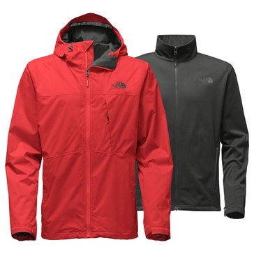 The North Face Men's Arrowood Triclimate Jacket Red