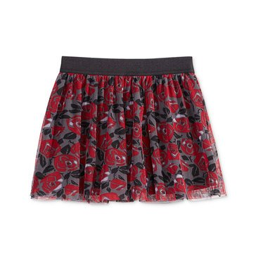 Epic Thread's Little Girls' Flower Print Tulle Skirt