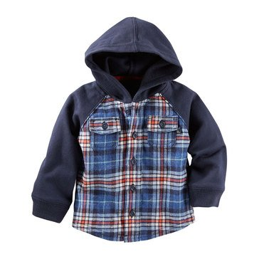 Oshkosh Baby B'Gosh Plaid Shirt Jacket