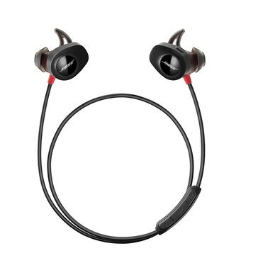 Bose SoundSport Pulse Wireless Sport Headphones - Black