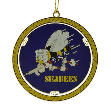 Seabees Ornament