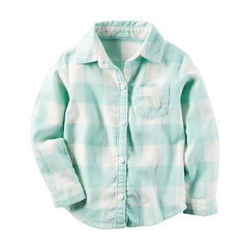 Carter's Toddler Girls' Flannel Top