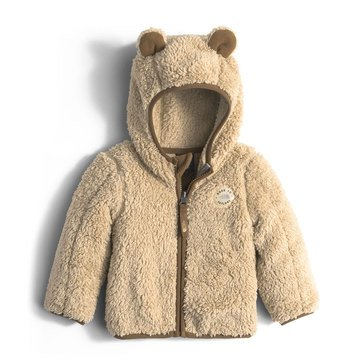 The North Face Baby Boys' Plushee Bear Hoodie, Pale Khaki