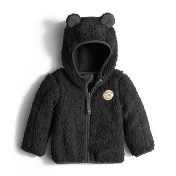 The North Face Baby Boys' Plushee Bear Hoodie, TNF Black