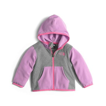 The North Face Baby Girls' Glacier Fleece Zip Hoodie, Lupine