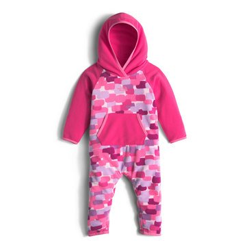 The North Face Baby Girls' Glacier Fleece One Piece, Pink