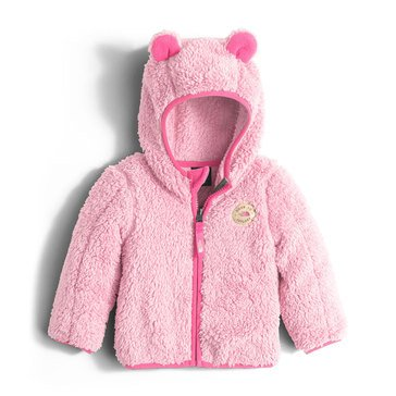 The North Face Baby Girls' Plushee Bear Hoodie, Coy Pink