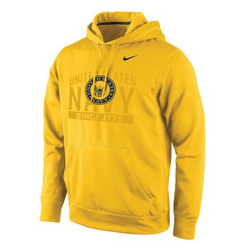 Nike Men's  U.S. Navy  Ghost Design With  Navy Seal KO Fleece Hoodie