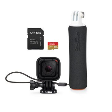 GoPro Hero Session with Handler & SD Card Bundle (CHDCQ-102)
