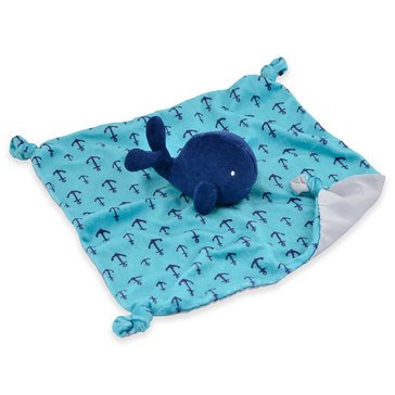 Gerber Baby Boys' Security Blanket, Whale