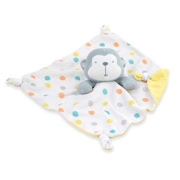 Gerber Newborn Security Blanket, Monkey