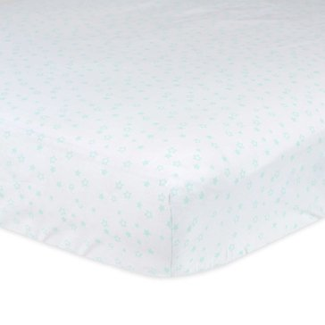 Gerber Newborn Fitted Crib Sheet, Stars