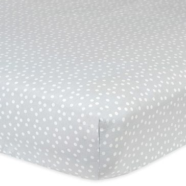 Gerber Newborn Fitted Crib Sheet, Dots