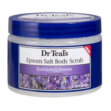 Dr. Teal's Exfoliate & Renew Body Scrub with Lavender 16oz