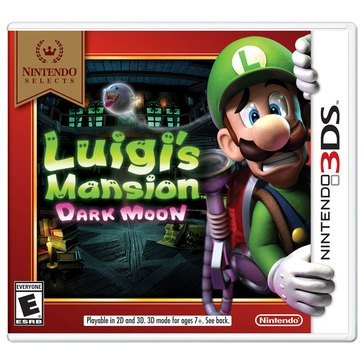 3DS Luigi's Mansion: Dark Moon NS