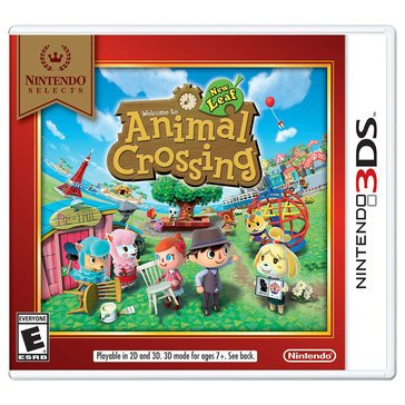3DS Animal Crossing:New Leaf NS