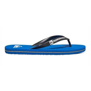 Quiksilver Men's Molokai Sandal Black/Blue