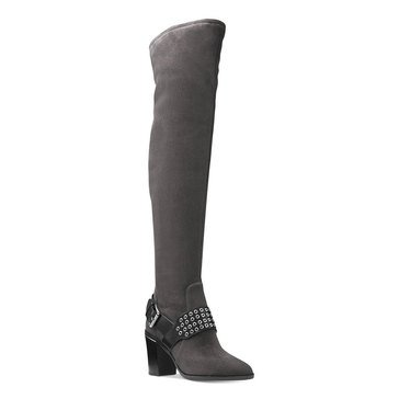 Michael Kors Brody Women's Over the Knee Boot Charcoal
