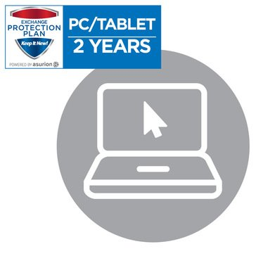 2-Year Computer, Tablet, eReader Service Plan Including Drop, Spills, & Cracked Screen Coverage $100-$199.99