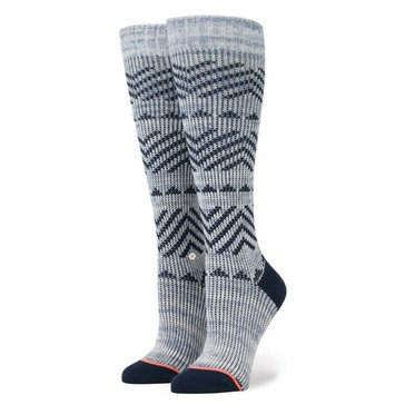 Stance Del Valle Tall Boot Socks Blue