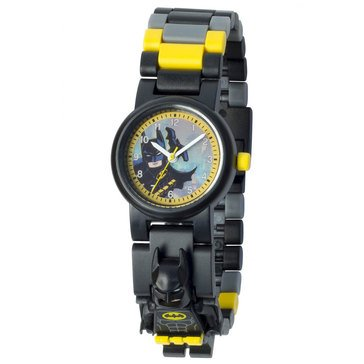 LEGO Kids' Superhero Batman Mini Figure Link Watch
