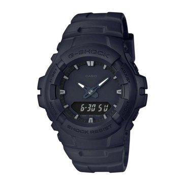 Casio G-Shock Men's Black Out Watch G100BB, Black 47.8mm