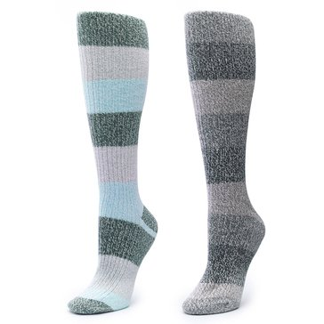 Columbia 2 Pack Super Soft Knee High Socks Turquoise
