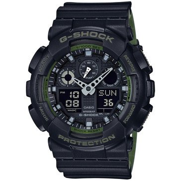 Casio G-Shock Men's Military Series Watch GA100L-1A, 55mm