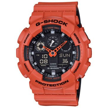 Casio G-Shock Men's Military Series Watch GA100L-4A, 55mm