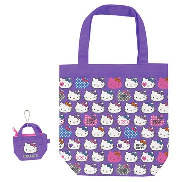 Hello Kitty Lavender Canvas Tote Bag