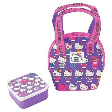 Hello Kitty Lavender Lunch Bag w/Container