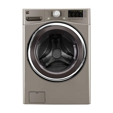 Kenmore 4.5-Cu.Ft. Front Load Washer, Metallic Silver (26-41393)