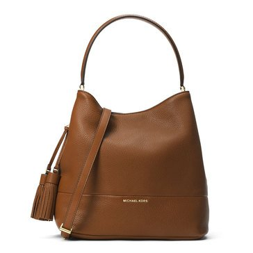 Michael Kors Kip Large Bucket Bag Luggage