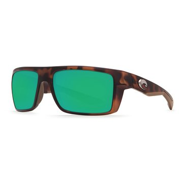 Costa Del Mar Unisex Motu Polarized Sunglasses, Retro Tortoise 57mm