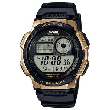 Casio Men's Digital Sport Watch AE1000W-1A3V, Black 47.7mm