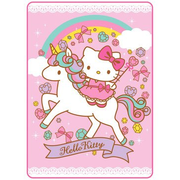 Hello Kitty Unicorn Blanket